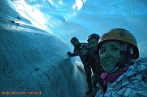 Interior glaciar Svínafellsjökull