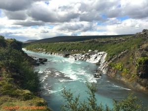 Cascadas de Hraunfossar