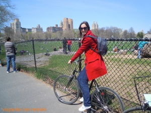 Bici en Central Park
