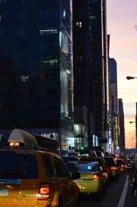 Atardecer en Manhattan