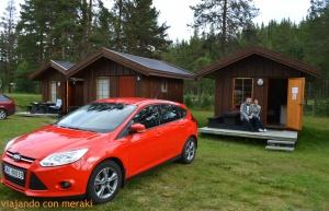 Cabaña camping Jotunheimen Feriesenter
