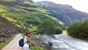Paseo en bici hasta Flåm