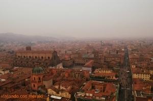 Bolonia desde las torres