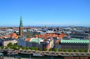 Vistas desde el palacio de Christiansborg