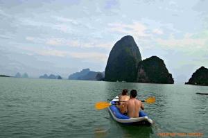 Kayak en Phang Nga