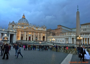 Piazza y Basílica de San Pedro