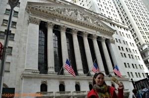 Edificio bolsa de Wall Street