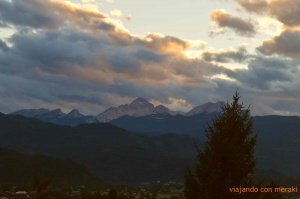 Triglav at sunset