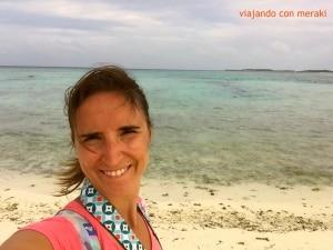 Playa local de Maafushi