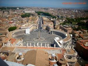 Vistas desde la cúpula de la basílica