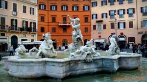 Fontana en Piazza Navona