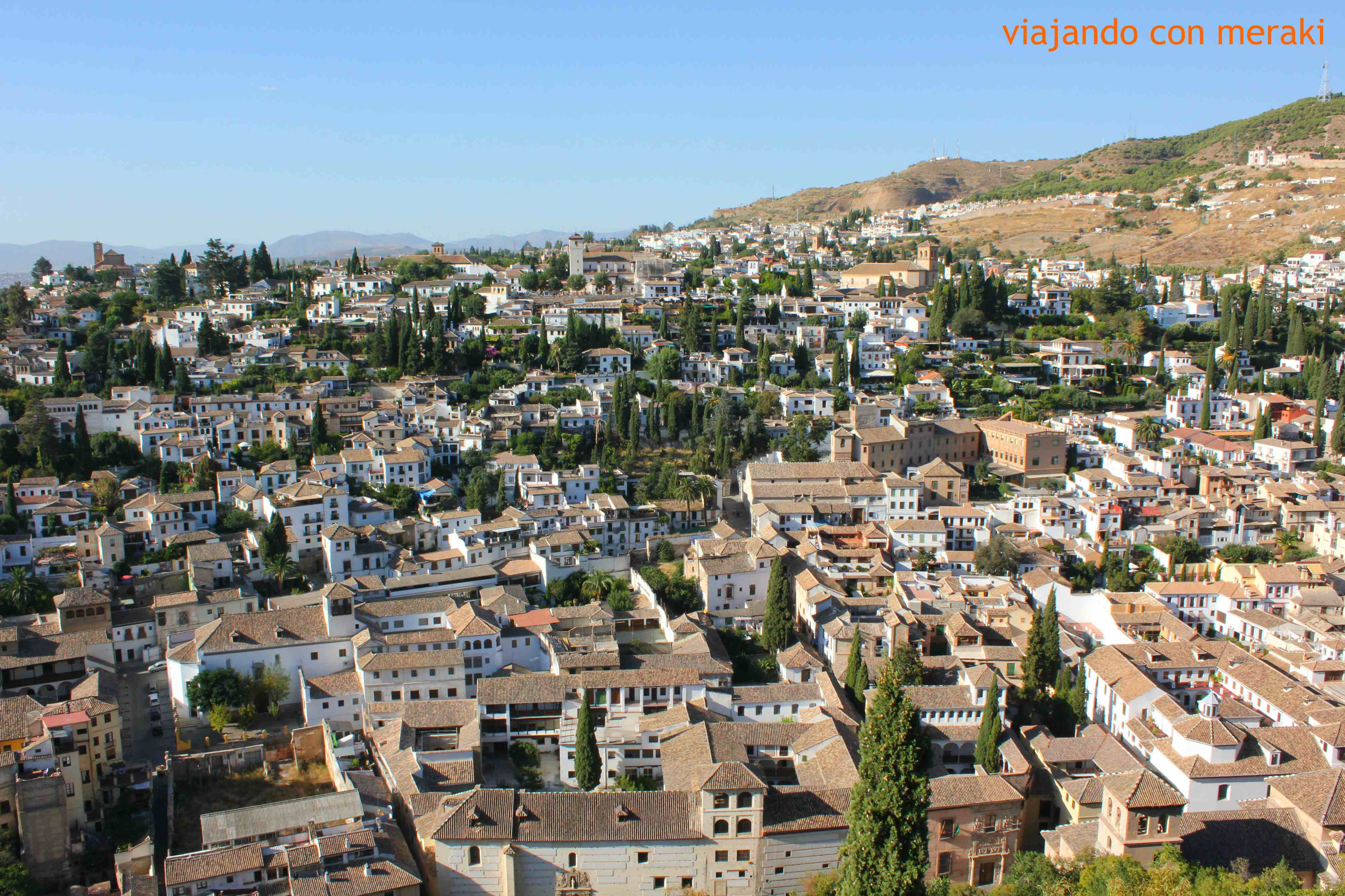 Granada tourist guide - Viajando con Meraki