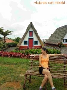 Casas de madera de Santana