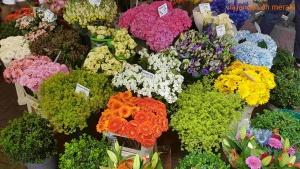 Bloemenmarkt,el mercado de las flores